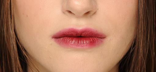 Акцент на губы