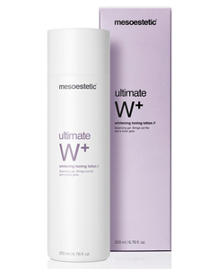 Ultimate W+ whitening toning lotion MESOESTETIC
